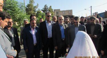 بازدید استاندار سمنان از شهرستان گرمسار