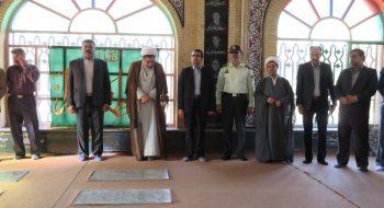 گلباران مزار شهدا به مناسبت آغاز هفته دولت