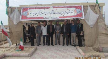 بازدید قائم مقام و معاونان دانشگاه گرمسار از نمایشگاه بسیج دانشجوئی