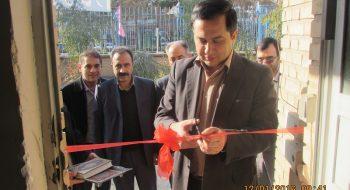 افتتاح کتابخانه و دفتر ارتباط با صنعت دانشگاه گرمسار