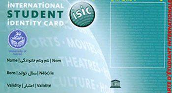 کارت بین المللی اساتید و دانشجویان